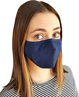 Eco4us - Protective Mask, Cold & Flu Face Mask, Adjustable Mask, Machine Washable Mask, Allergy Mask (Child, Blue)