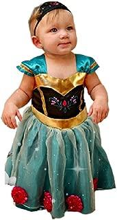 Baby Girl Toddler Anna Coronation Dress Halloween Costume Size 9m-4T USA