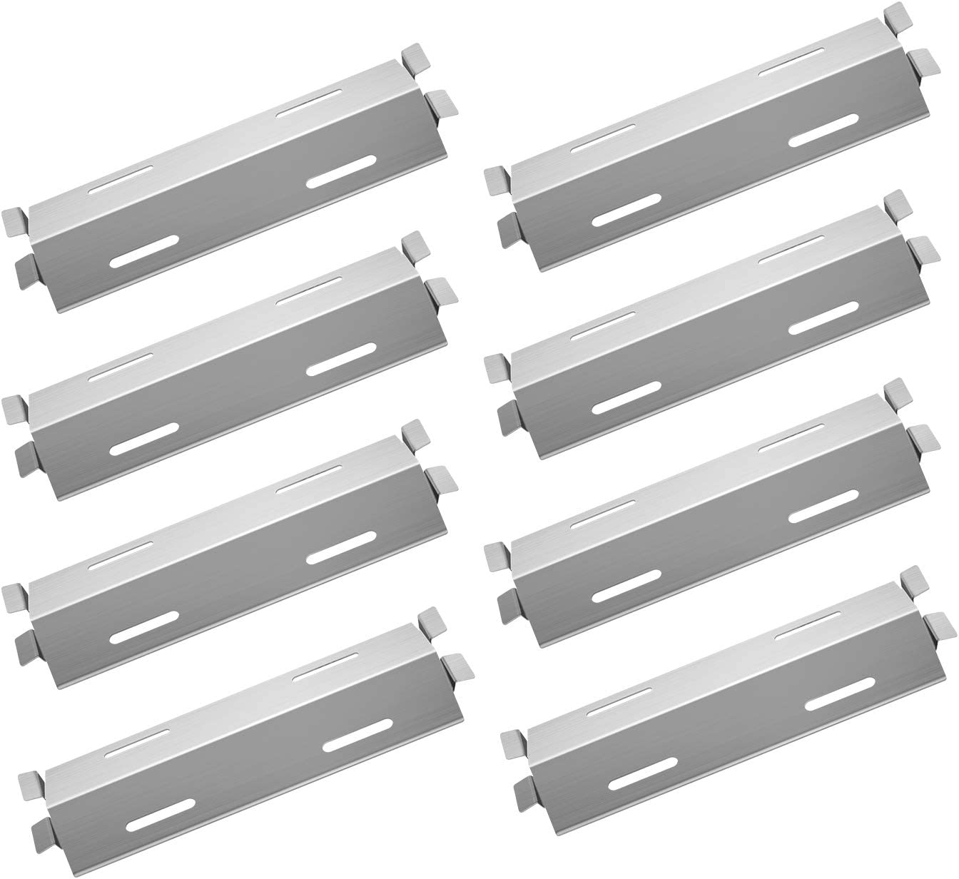Damile Stainless Steel Grill Heat Plates Shield Cove 5 Outstanding ☆ very popular Burner