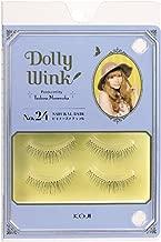 DOLLY WINK Koji False Eyelashes, No. 24 Natural Baby