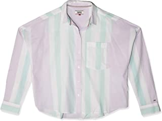 Tommy Jeans Women's Blouse - Multicolour - XL