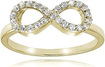 figure eight diamond ring
