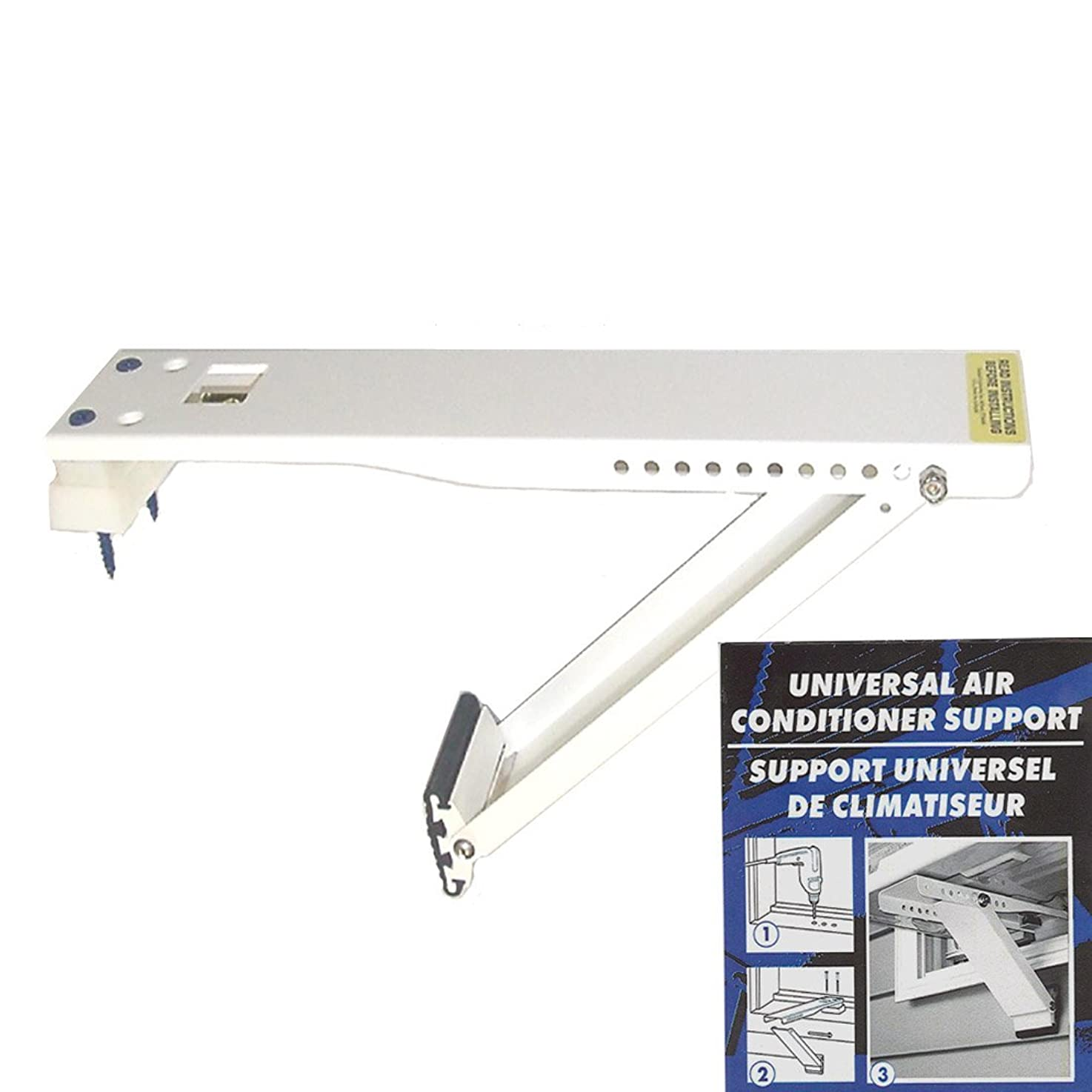 AC Safe AC-080 Universal Light-Duty Air Conditioner Support Bracket, Upto 80 Pounds (Certified Refurbished) rvarwalhnvmbp8
