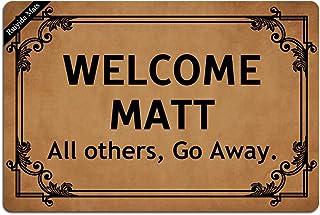 Ruiyida Welcome Matt All Others, Go Away. Entrance Floor Mat Funny Doormat Door Mat Decorative Indoor Outdoor Doormat Non-...