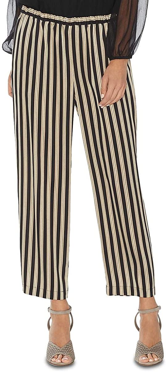 Vince Camuto womens Pull-on Striped Pants