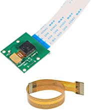 Raspberry Pi Zero CSI Mini Camera Module 5MP 1080p Webcam Support OV5647 Sensor Video with Pi Zero Ribbon Cable & FPC Cable for Raspberry Pi Model A/B/B+,Pi 2 and Raspberry Pi 3, Pi 4, Pi Zero/Zero W