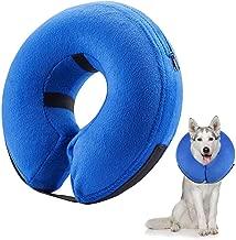 collare gonfiabile per animali domestici collare morbido per il recupero di animali domestici per cani e gatti impedisce agli animali di toccare i punti di protezione collare gonfiabile per cani