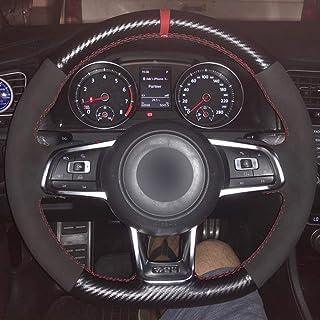 Durable Cuero Negro Volante Autom/ático Universal PVC Modificar OMP Imitaci/ón Auto Racing Volante General 14 Pulgadas Volante Del Autom/óvil