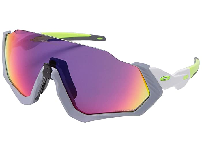 Oakley  37mm Flight Jackettm (Matte Fog with PRIZM Road) Fashion Sunglasses