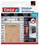 Tesa adhesivas Tornillo para muros y piedra, potencia de sujeción 10kg, 2unidades, 77908-00000-00