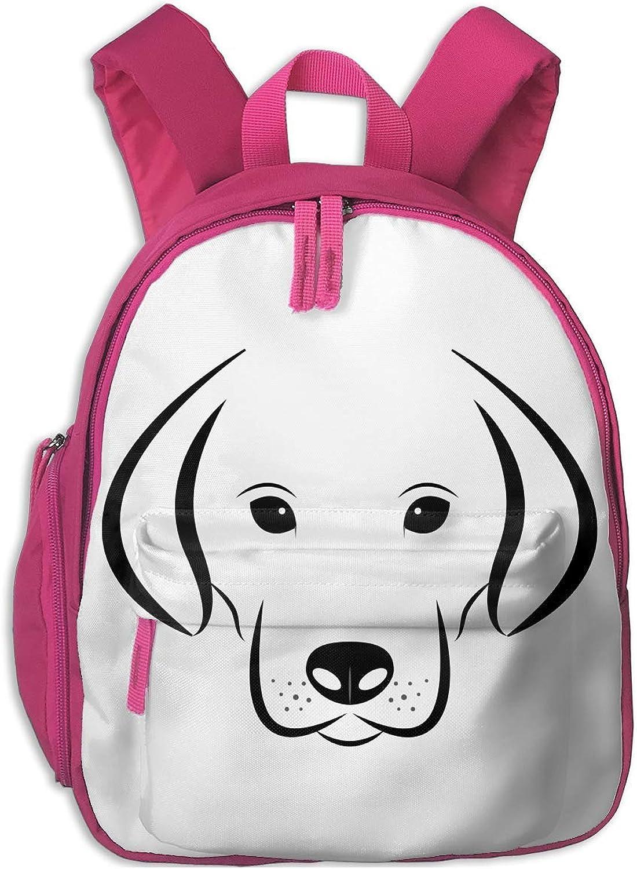 School Backpack for Girls Boys, Kids Cute schwarz Dog Cartoon Backpacks Book Bag B07MKJZ41B  Extreme Geschwindigkeitslogistik