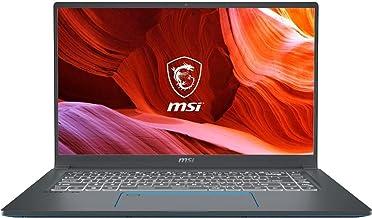 "MSI Prestige 15 15.6"" Ultra HD Notebook Computer, Intel Core i7-10710U 1.1GHz, 16GB RAM, 512GB SSD, NVIDIA GeForce GT..."