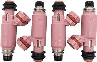 GERMBAN 4pcs Set 565cc Fuel Injectors Fits for Subaru STI WRX Forester 16611-AA370