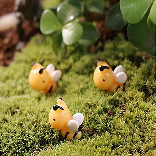 Bluelover Miniature De Bricolage Abeille Mignons Ornements en Pot Plante Jardin Decor