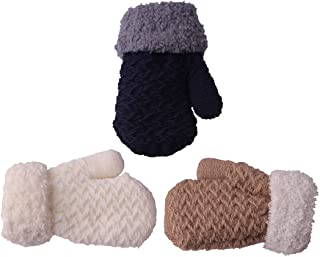 infant gloves with string