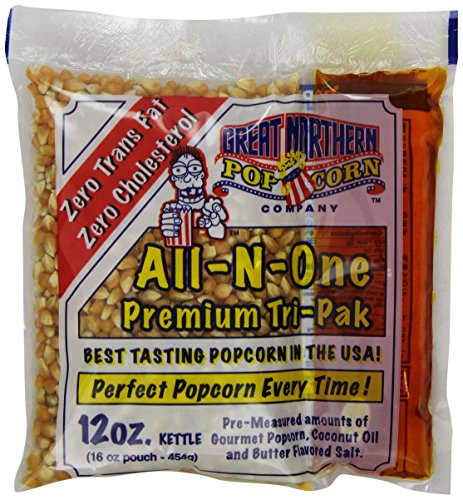 4111 Great Northern Popcorn Premium 12 Ounce (Pack of 24) Popcorn Portion Packs Cinema