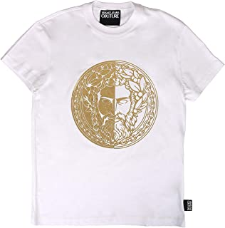 Jeans Couture Cotton Printed Logo White T-Shirt