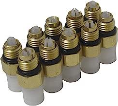 AIRSUSFAT 10pcs Air Suspension Repair Kit Air Valve M81 for Benz W251 W164 W212 W211 W220 W221 New Air Connector Tube Brass Fittings 2203200104, 2113200304