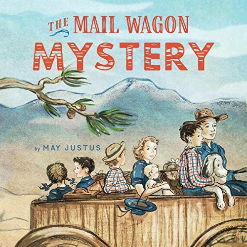 The Mail Wagon Mystery audiobook cover art