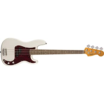 Squier by Fender Classic Vibe 60's Precision Bass - Laurel - Olympic White