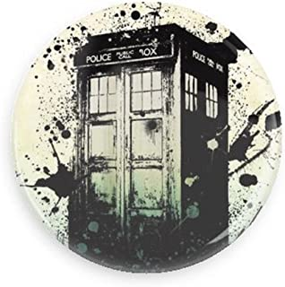 Doctor Who TARDIS Paint Splatter Pin-back Button/magnet