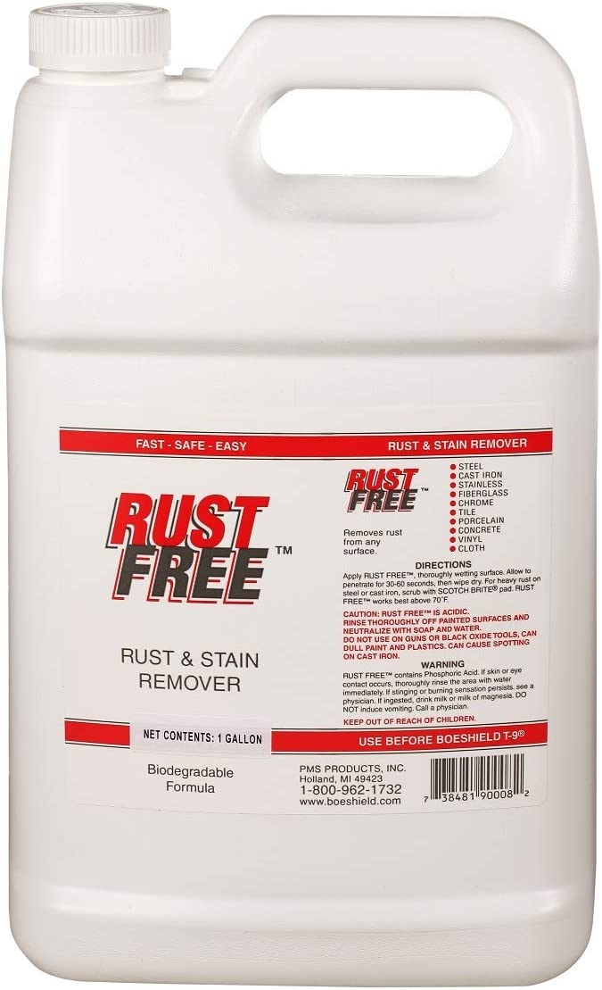 Boeshield RustFree Rust and Remover gallon Bombing new High order work 1 Stain