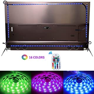 LED Strip Lights, LAMINA 9.84ft/3M 5050 RGB LED Light Strip for 40 to 70in TV Lights Bias Lighting for TV Backlight,USB LED TV Backlight Kit with Remote (16 Color and 6 Modes)