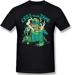 CoolT Men Less Than Jake Generic T Shirts Black
