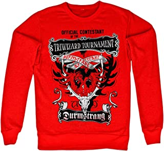 Harry Potter Officially Licensed Inked Triwizard Tournament Sweatshirt (Red)