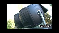 Amazon.com : FCMP Outdoor IM4000 Tumbling Composter, 37 ...