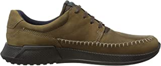 ECCO Luca Moc Toe Men's Casual Shoes, Camel/Marine, 43 EU