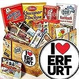 I love Erfurt / Süßigkeitenbox mit DDR Waren / Geschenkidee Erfurt