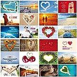 52 Postkarten für die Hochzeit / 52 Wochen-Hochzeitsspiel: Ein Jahr lang jede Woche eine andere Karte zum Thema LIEBE für das Brautpaar (10794-10939)