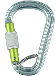 EDELRID HMS Bruce Steel Screw FG Locking Carabiner