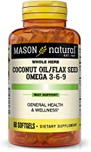Best coconut oil flax seed omega 3 6 9 Reviews