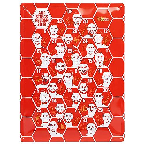 1. FC Union Berlin Blechschild Aufstieg in 30 cm x 40 cm