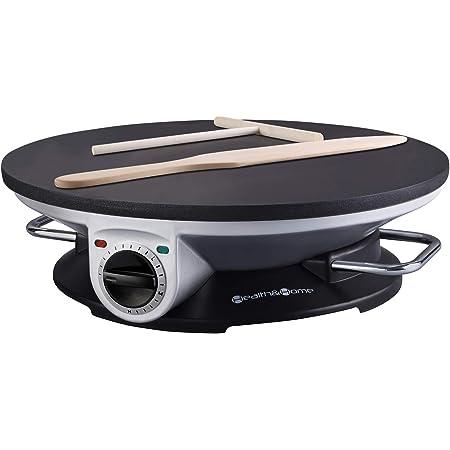 Crepe Maker Pro Morning Star 13 Inch Crepe Maker /& Electric Griddle Non-stick Pancake Maker NEECO 250