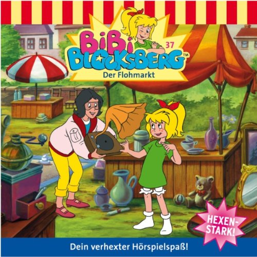 Der Flohmarkt audiobook cover art