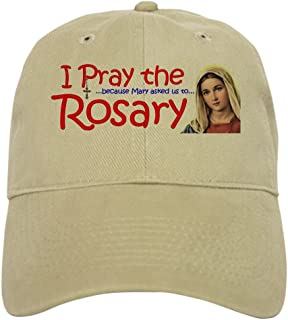 CafePress Pray_Shoulder Cap Baseball Cap