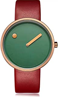 Geekthink Casual Watch For Unisex Analog Leather - A8002