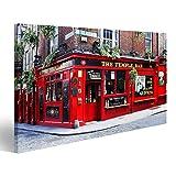 bilderfelix® Bild auf Leinwand Dublin, Irland - 30. März