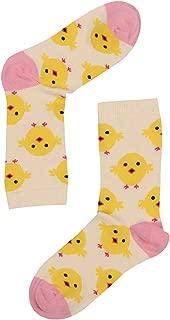 Chicken Dance Desenli Kadın Çorap