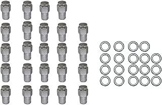24 Pc Set Chrome Steel Mag Shank Lug Nuts 7/16