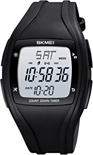 CakCity Mens Digital Sport Watches for Men Wrist Watches with Alarm Stopwatch Waterproof