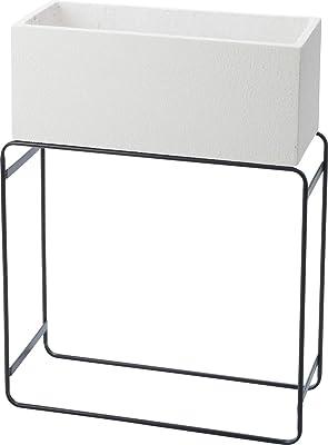 ポピー(Popy) 花器 STAND PLANTER MID 器: W55.5cm×D23cm×H23cm(内寸: W52cm×D20cm×H20cm)スタンド: W55cm×D23.5cm×H60cm PED-0058