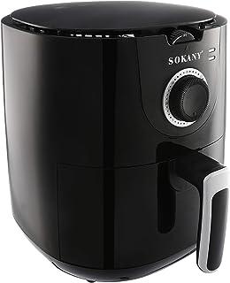 Sokany AF-002 Air Fryer, 5 Liters - Black (International warranty)