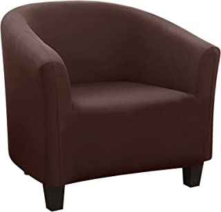 SearchI - Funda para silla de jacquard, moderna funda para sillón, extraíble y lavable, para comedor, sala de estar, oficina, recepción universal