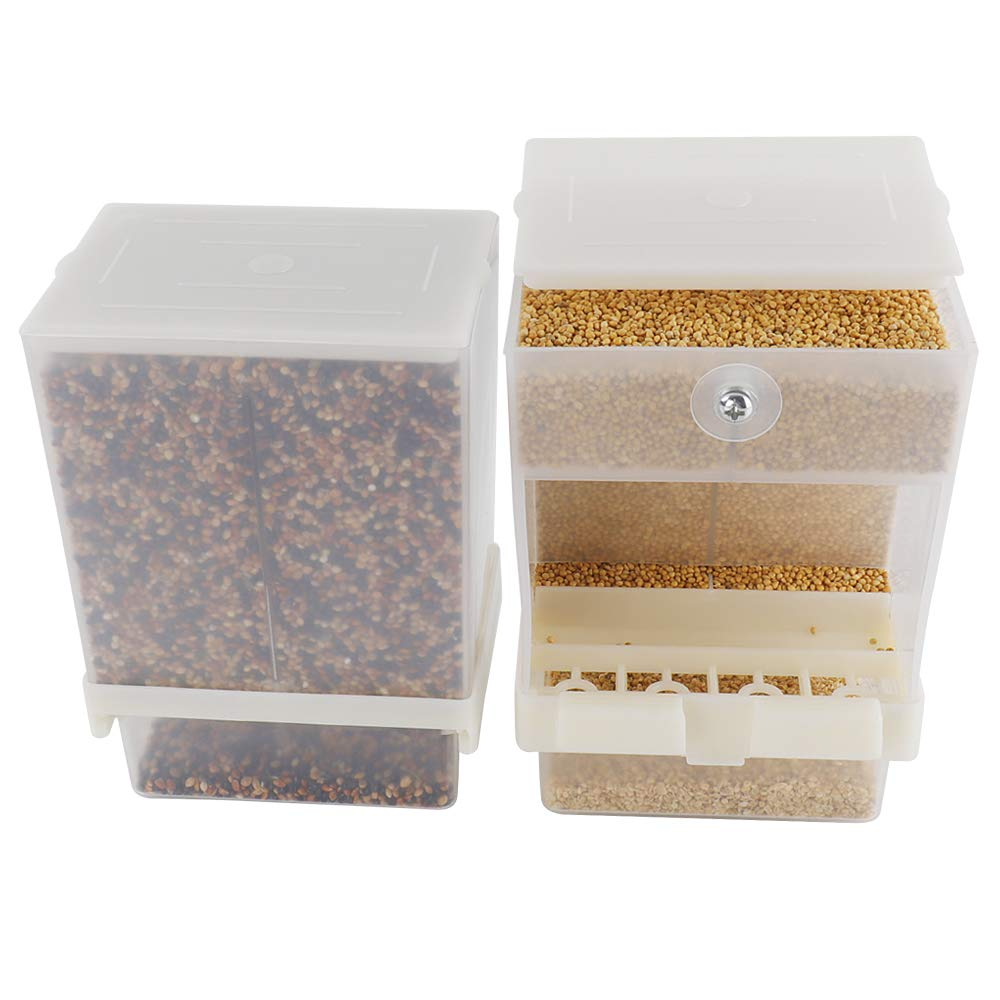 FinYii 2 Pack No Mess Automatic Feeder