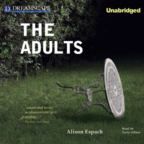 The Adults audiobook cover art