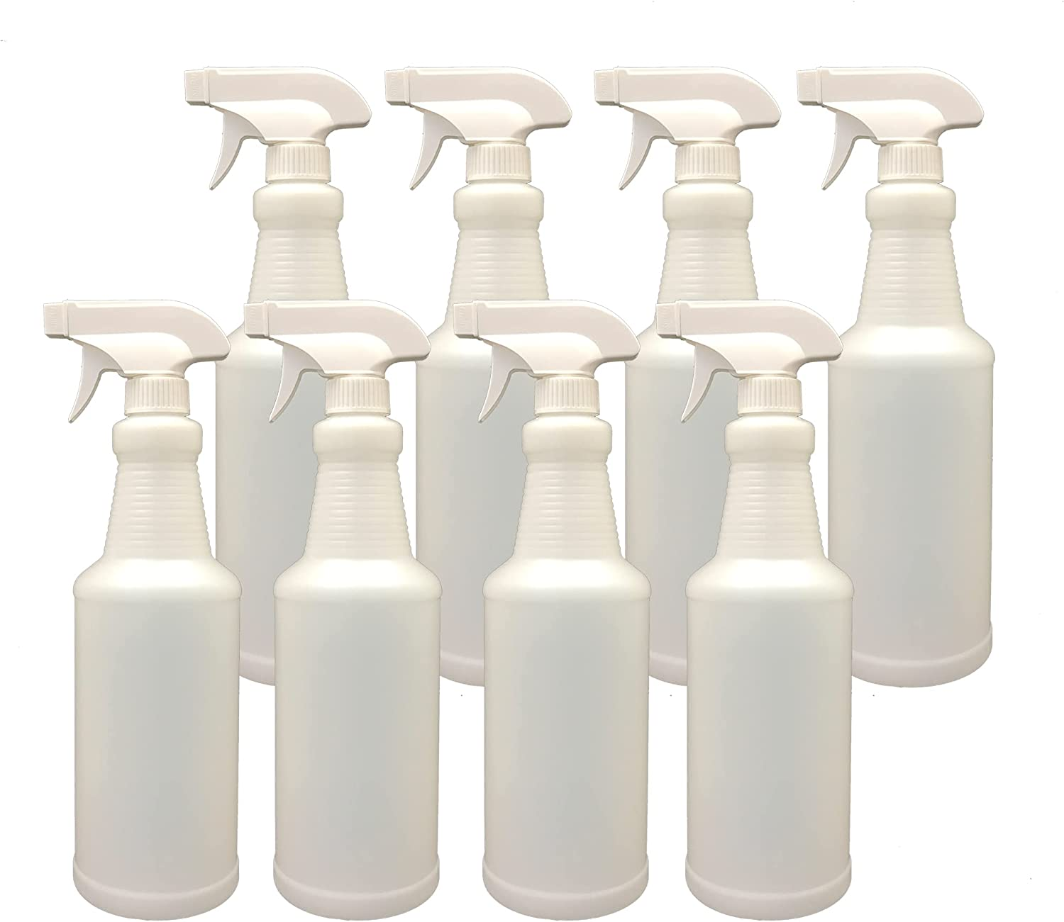 Plastic Spray Bottle with Adjustable Kansas City Mall Nozzle All-Purpose 32oz S 55% OFF